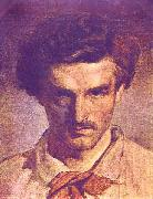 Anselm Feuerbach Self portrait oil painting reproduction