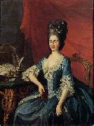 Anton Hickel Archduchess of Austria oil painting