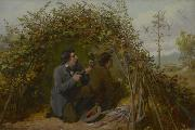 Arthur Fitzwilliam Tait Shooting From Ambush oil painting