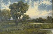 Charles S. Dorion marshland oil painting reproduction