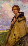 Charles-Amable Lenoir La Bergere oil painting reproduction