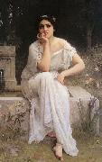 Charles-Amable Lenoir Meditation oil painting reproduction