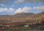 Enoch Wood Perry, Jr. Kualoa Ranch, Oahu oil painting