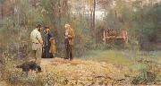 Frederick Mccubbin A Bush Burial oil painting