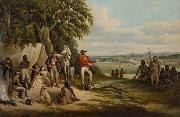 Frederick William Woodhouse The first settlers discover Buckley oil painting reproduction