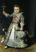 French school Portrait of a Young Boy oil painting