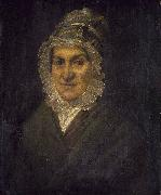 French school Portrait of an Old Woman oil painting