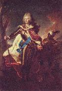 Hyacinthe Rigaud Portrait of Friedrich August II of Saxony oil painting