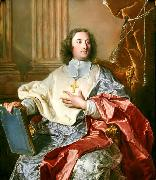 Hyacinthe Rigaud Portrait of Charles de Saint-Albin, Archbishop of Cambrai oil painting