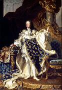Hyacinthe Rigaud Portrait of Louis XV oil painting