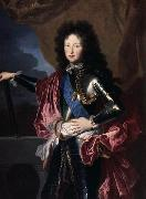 Hyacinthe Rigaud Portrait of Philippe II, Duke of Orleans (1674-1723), Regent de France oil painting