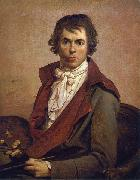 Jacques-Louis  David Self portrait oil painting reproduction