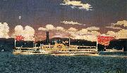 James Bard Steamer Broadway oil painting
