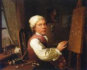 Jens Juel Self portrait oil painting reproduction