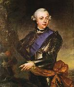 Johann Georg Ziesenis State Portrait of Prince William V of Orange oil painting