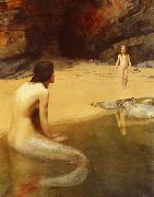 John Collier The Land Baby oil painting reproduction