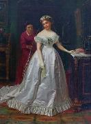 John George Brown The Bride oil painting reproduction