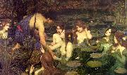 John William Waterhouse Hylas and the Nymphs oil painting reproduction