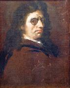 Luca  Giordano Self portrait oil painting reproduction