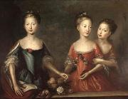 Martin Maingaud The daughters of George II oil painting reproduction