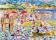 Maurice Prendergast Bathers oil painting reproduction