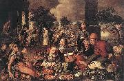 Pieter Aertsen Christ and the Adulteress oil painting