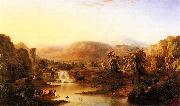 Robert S.Duncanson Land of the Lotos Eaters oil painting reproduction
