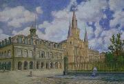 William Woodward Jackson Square oil painting reproduction