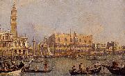 antonio canaletto View of the Ducal Palace in Venice oil painting