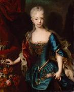 unknow artist Kaiserin Maria Theresia oil painting reproduction