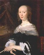 Abraham van den Tempel Portrait of a Lady oil painting