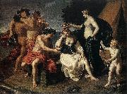 Alessandro Turchi Bacchus and Ariadne oil painting