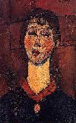 Amedeo Modigliani Madame Dorival oil painting reproduction