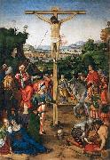 Andrea Solario The Crucifixion oil painting