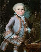 Anonymous The Boy Mozart oil painting reproduction