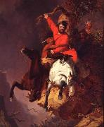 Charles Deas The Death Struggle oil painting reproduction