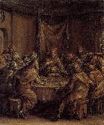 Dirck Barendsz The Last Supper oil painting reproduction