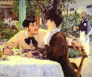 Edouard Manet Pere Lathuille oil painting reproduction
