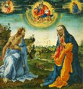 Filippino Lippi The Intervention of Christ and Mary oil painting reproduction