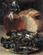 Georg Flegel Still-Life with Fish oil painting