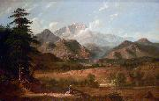 George Caleb Bingham View of Pikes Peak oil painting