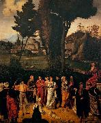 Giorgione The Judgment of Solomon oil painting reproduction