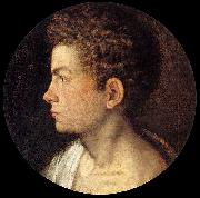Giovanni Paolo Lomazzo Self-portrait oil painting