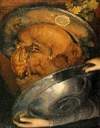 Giuseppe Arcimboldo The Cook oil painting