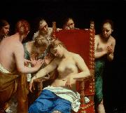 Guido Cagnacci Death of Cleopatra oil painting reproduction