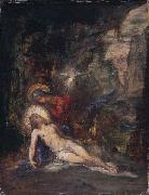 Gustave Moreau Pieta oil painting reproduction
