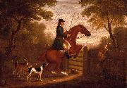 James Seymour Jumping the Gate oil painting