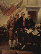 John Trumbull The Declaration of Independence, July 4, 1776 oil painting reproduction