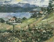 Lovis Corinth Walchensee oil painting reproduction