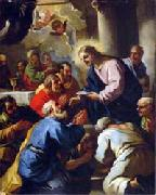 Luca Giordano The Last Supper by Luca Giordano oil painting reproduction